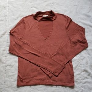 3/$20 Aritzia Wilfred Free Key hole sweater